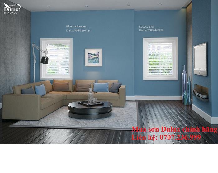 chọn mầu sơn phòng khách