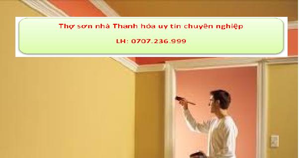 Thợ sơn nhà Thanh Hóa uy tín, chuyên nghiệp