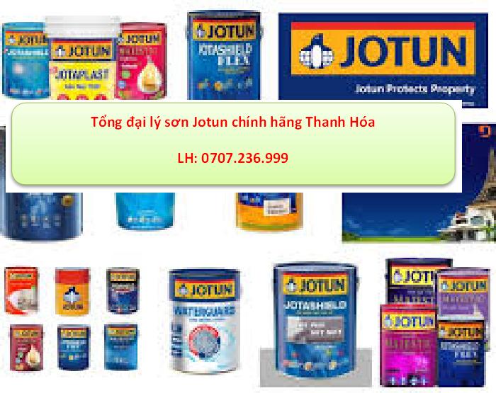 đại ly sơn jotuj tại thanh hóa đa dạng về sản phẩm sơn jotun