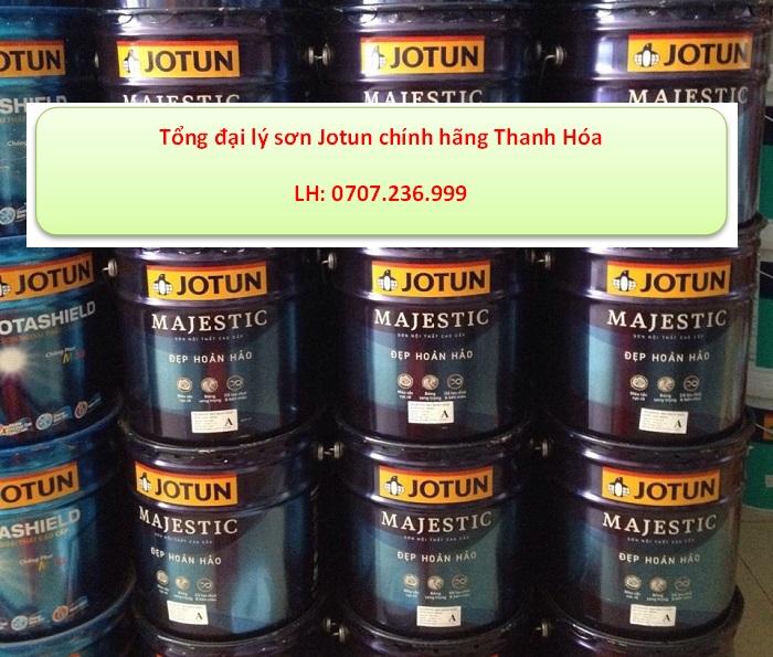 đại lý sơn jotun chính hãng tại Thanh hóa- sơn majestic