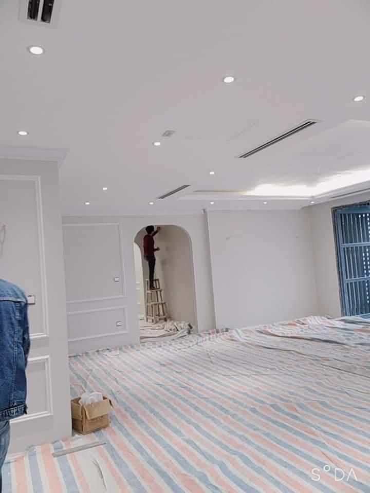 sơn mầu trắng sứ cho chung cư